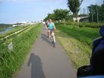 洋子多摩川サイクリング - 26.jpg