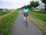 洋子多摩川サイクリング - 43.jpg